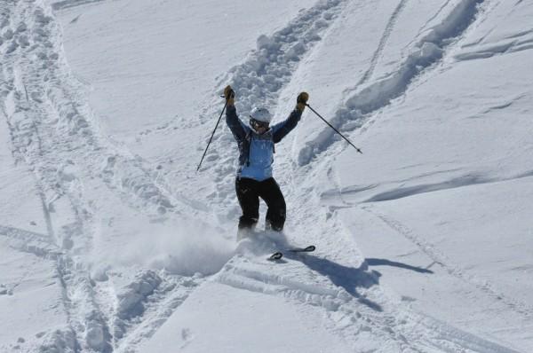 Powder at Snowbird