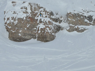 Hucking at Targhee