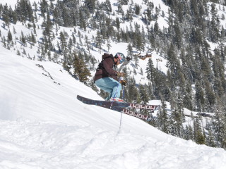 Competing at Alpine Meadows
