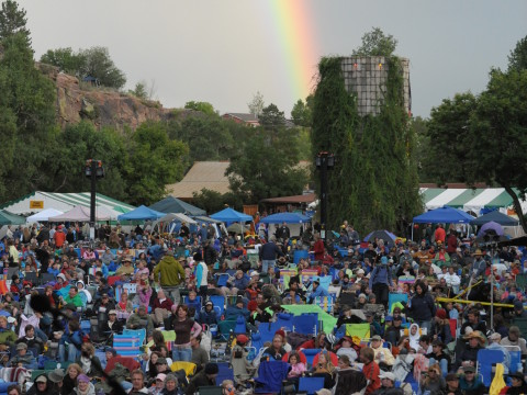 Folks Festival Rainbow