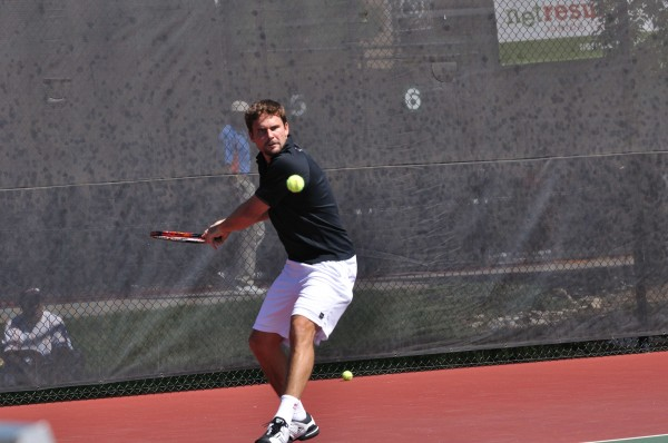 Jan Michael Gambill during State Open