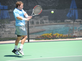 Michael Russell backhand