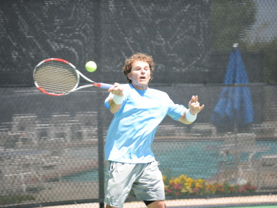 Michael Russell forehand