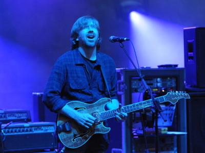 Trey Anastasio at Red Rocks